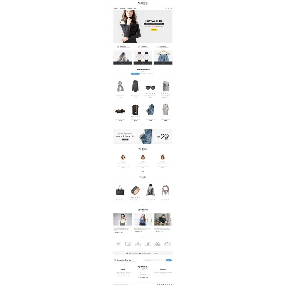 theme - Moda & Calzature - Fashion Apparels - 2