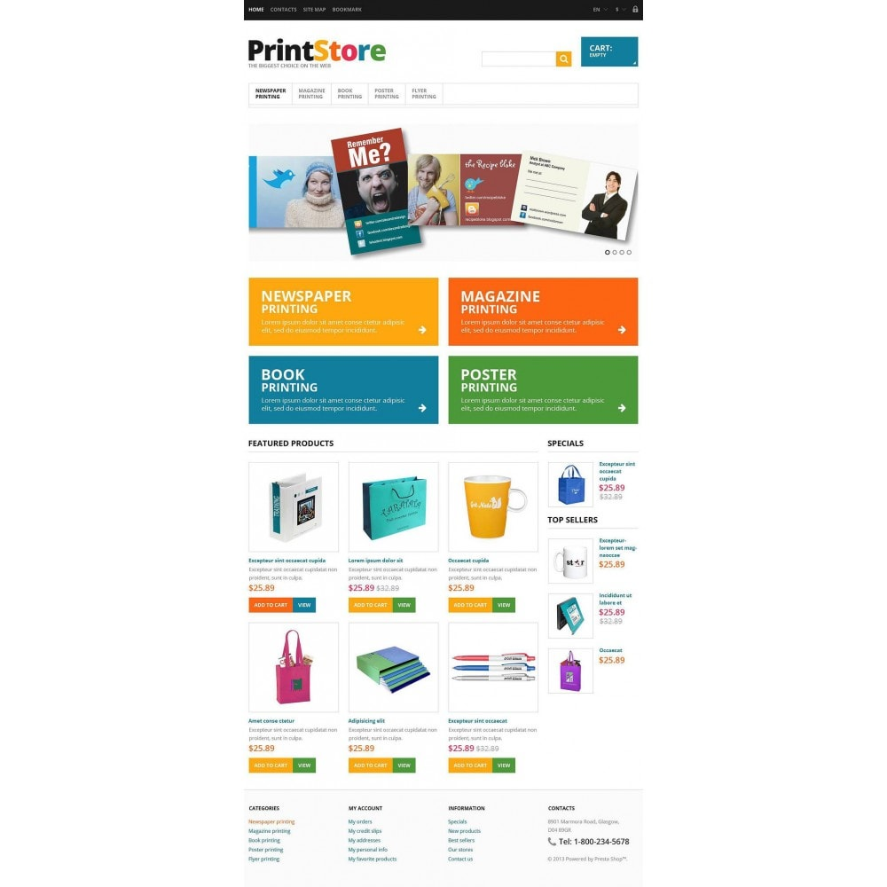 theme - Kunst & Kultur - Responsive Print Store - 2