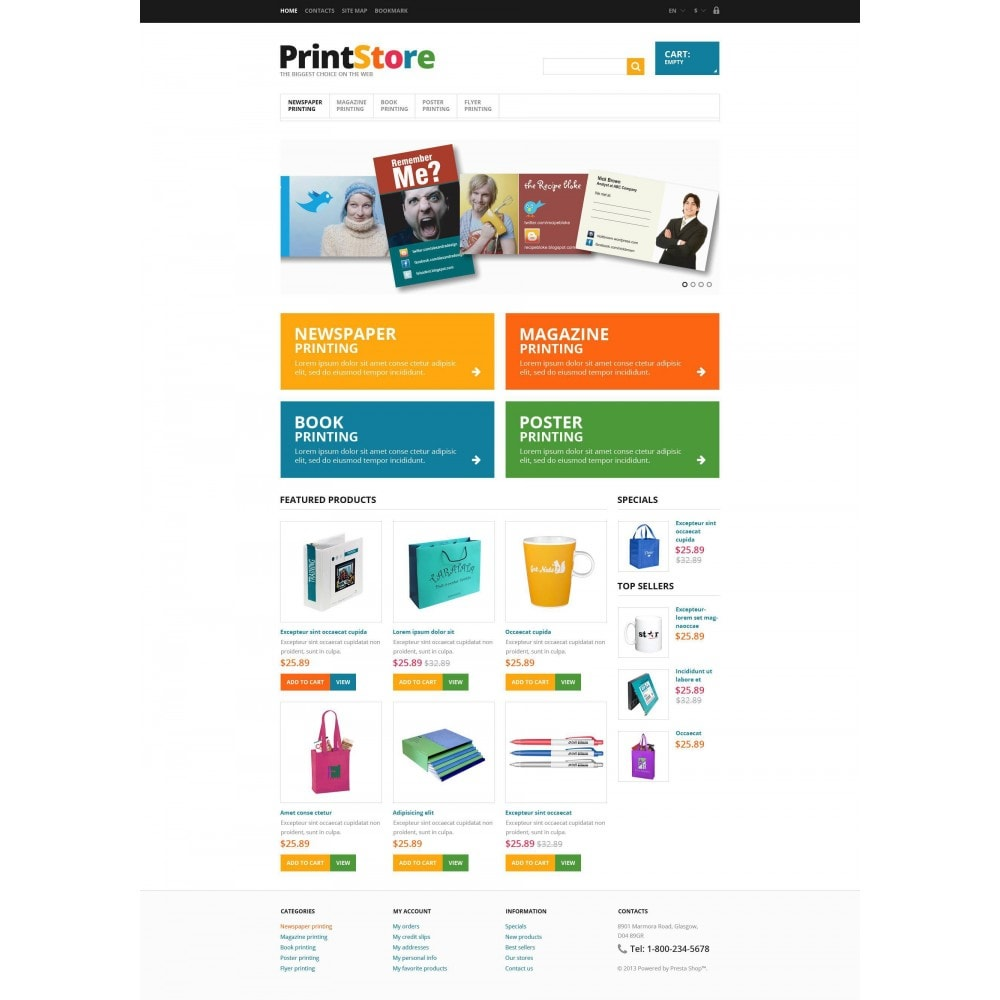theme - Art & Culture - Responsive Print Store - 5