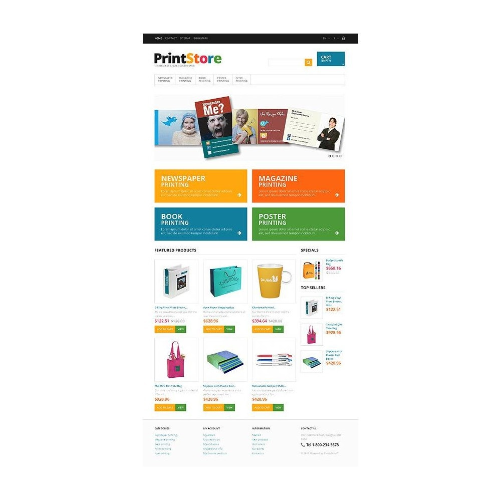 theme - Art & Culture - Responsive Print Store - 11