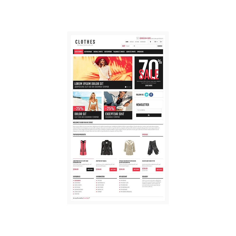 theme - Mode & Chaussures - Responsive Clothing Shop - 10