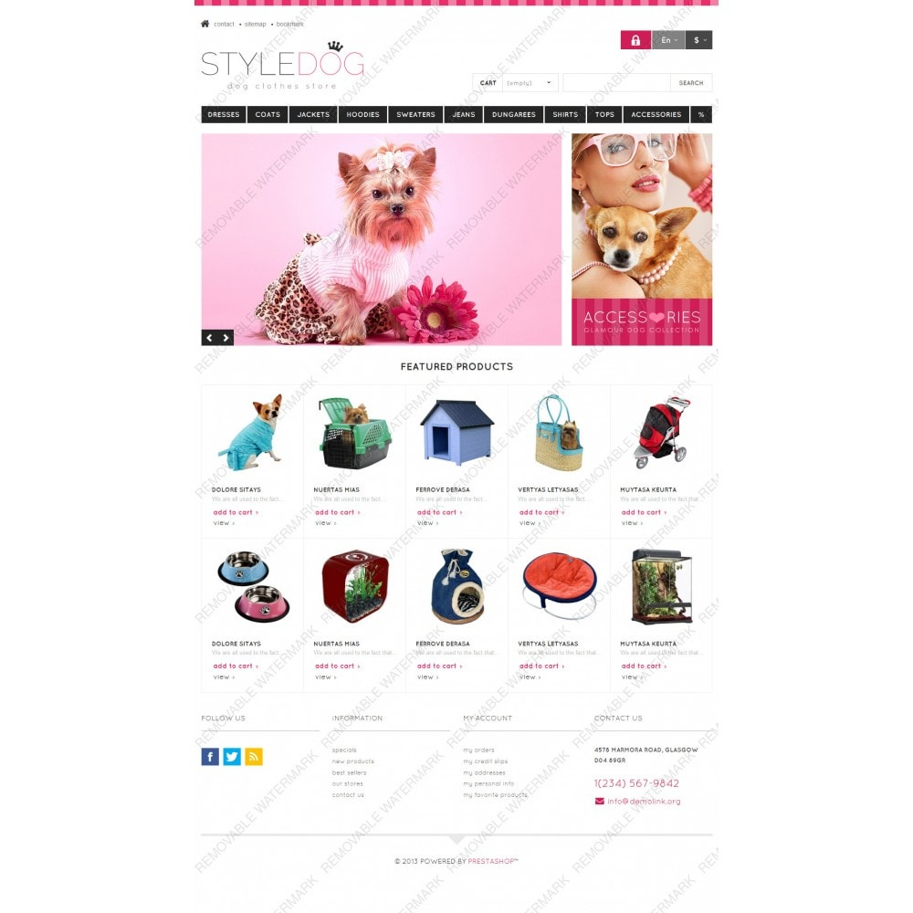 theme - Animaux - Responsive Dog Style Store - 3
