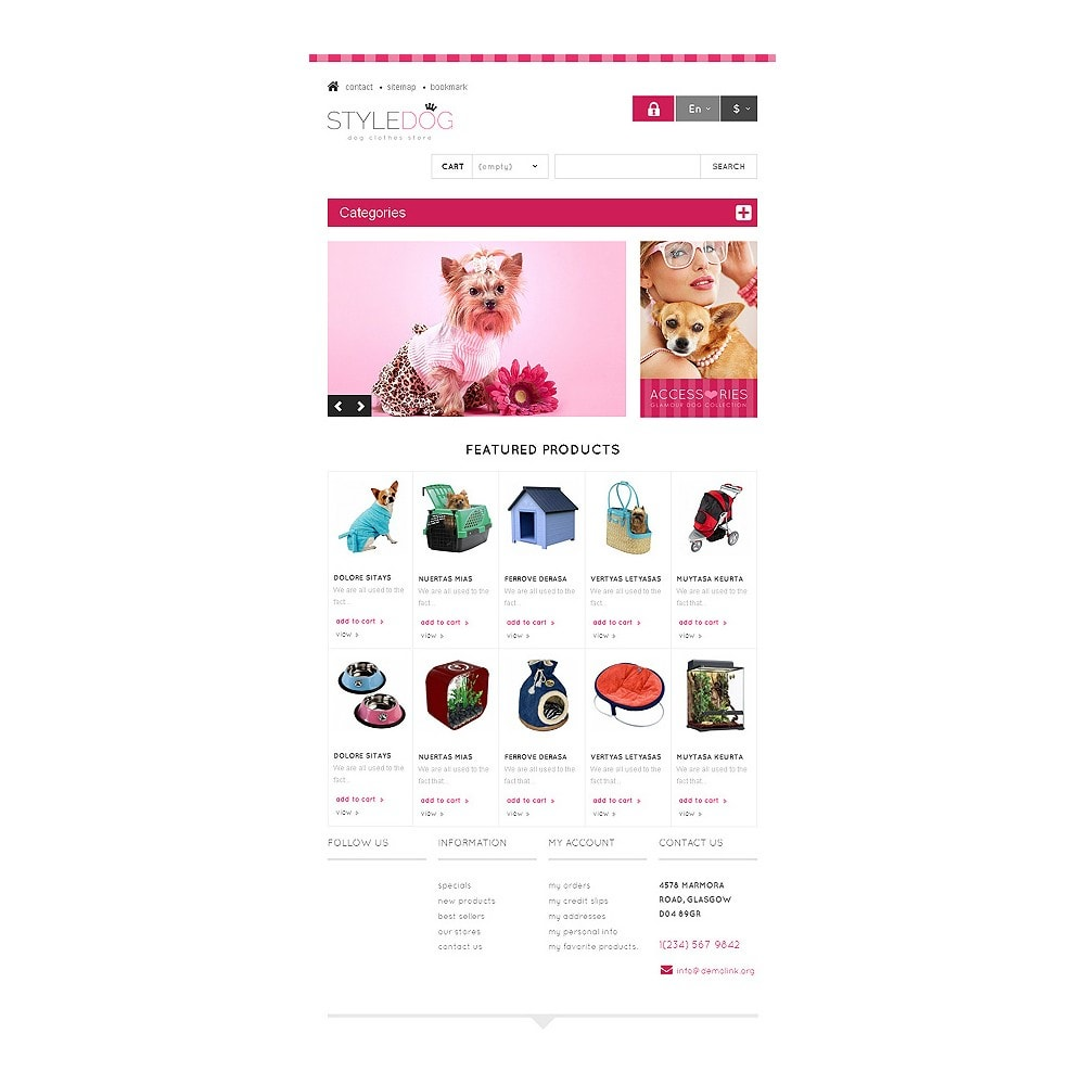 theme - Animaux - Responsive Dog Style Store - 7