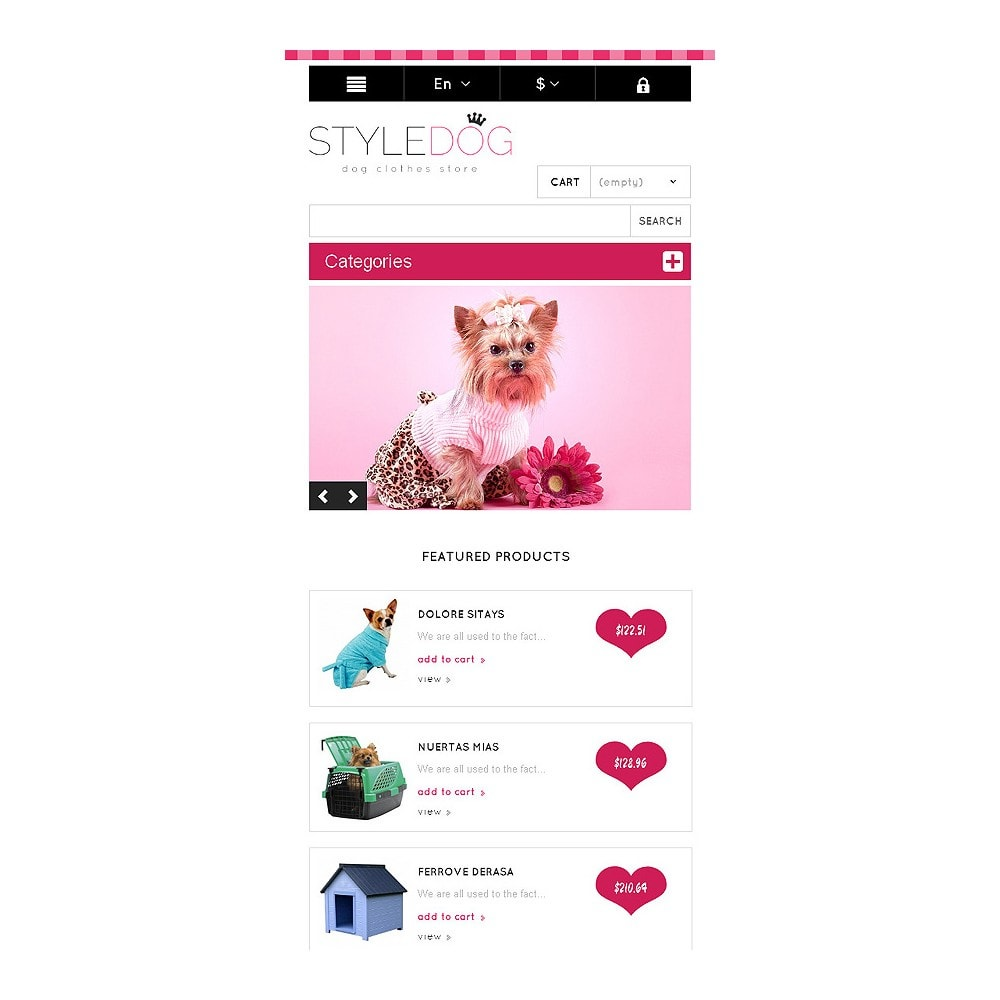 theme - Animaux - Responsive Dog Style Store - 8