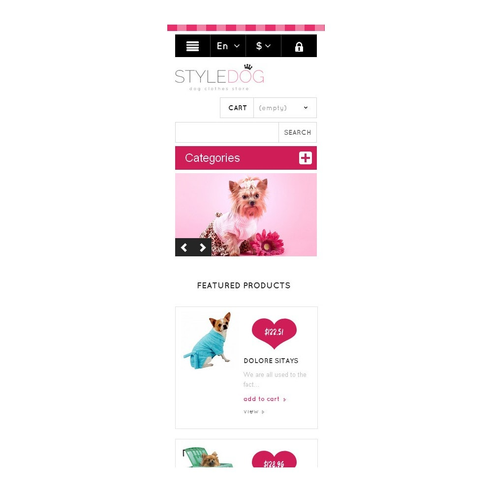 theme - Animaux - Responsive Dog Style Store - 9