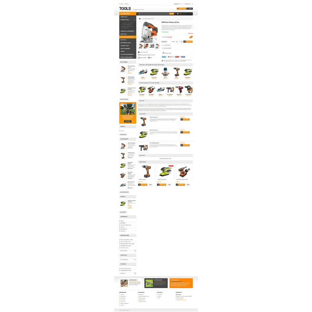 theme - Home & Garden - Quality Tools - 6