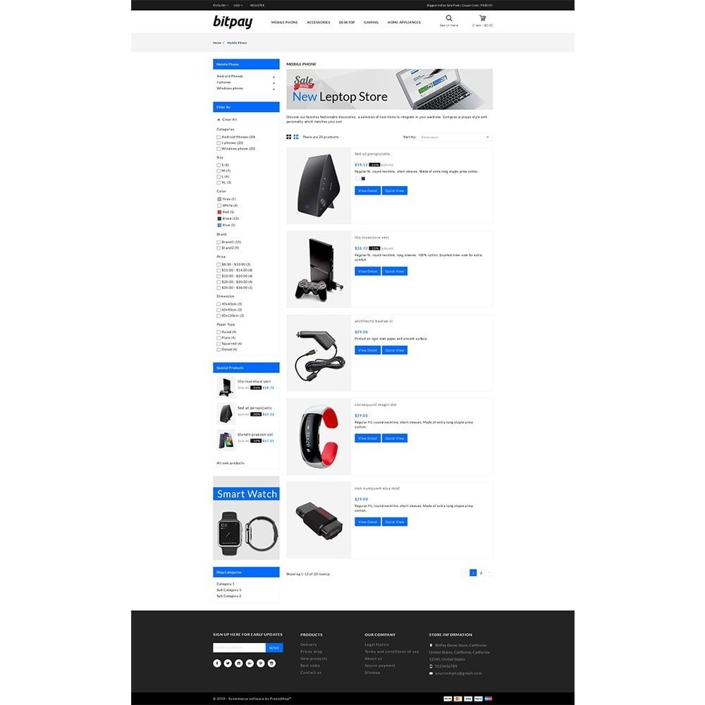 theme - Elektronica & High Tech - Bitpay Electronics Store - 4