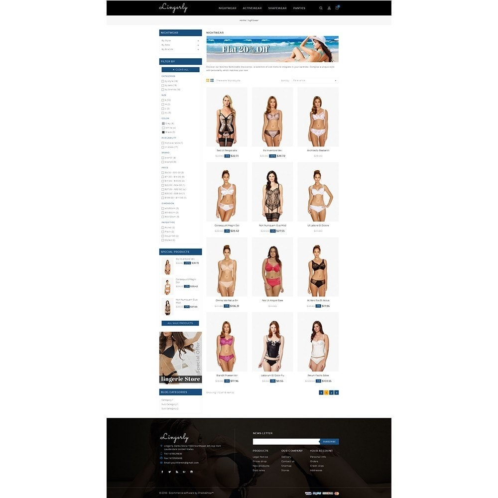 theme - Lingerie & Adultos - Lingerly Store - 3