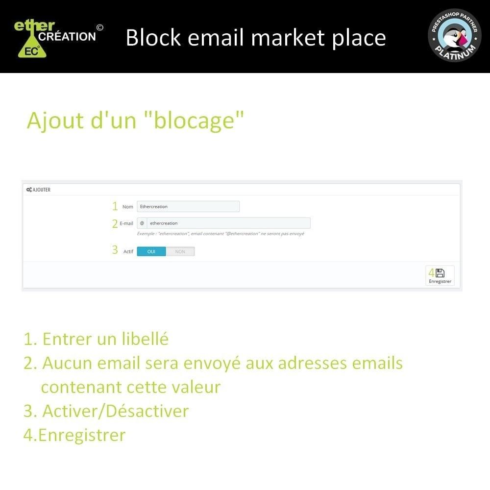 module - E-mails & Notifications - Bloquer envoie email places de marché - 3