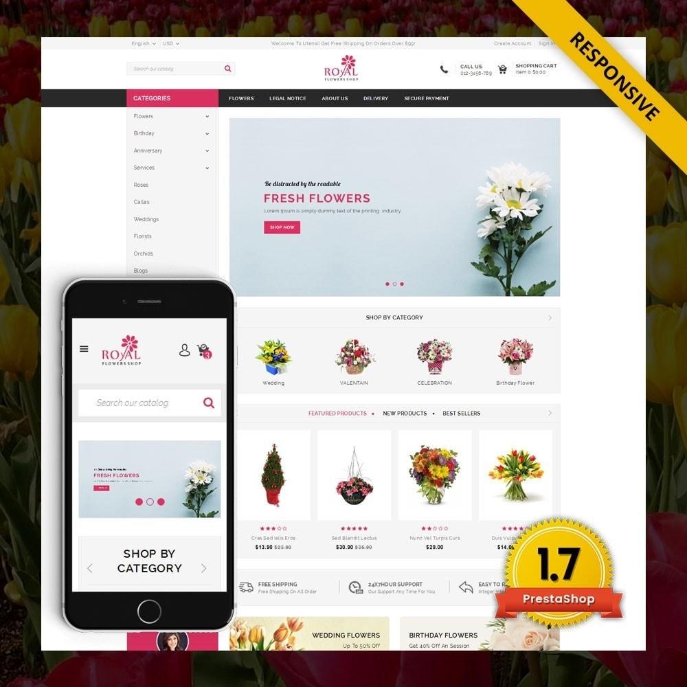 theme - Подарки, Цветы и праздничные товары - Royal - Flower Store - 1