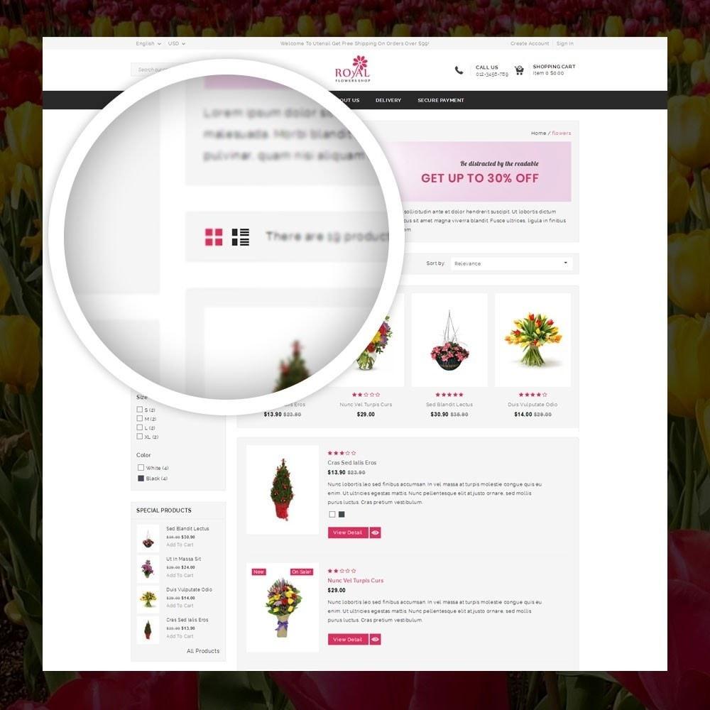 theme - Подарки, Цветы и праздничные товары - Royal - Flower Store - 3