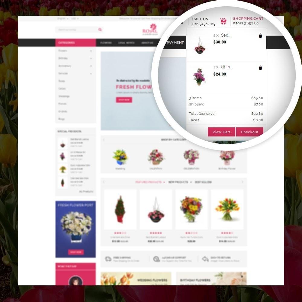 theme - Presentes, Flores & Comemorações - Royal - Flower Store - 6