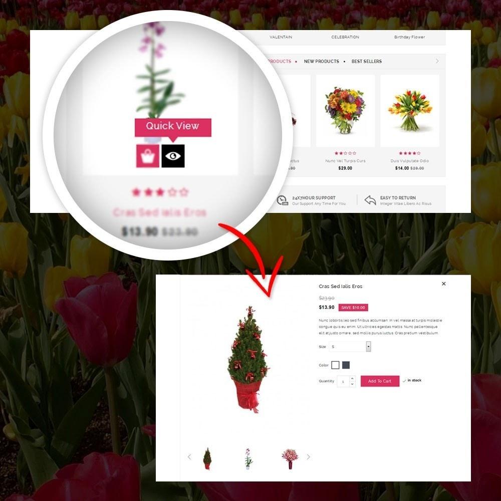 theme - Подарки, Цветы и праздничные товары - Royal - Flower Store - 8
