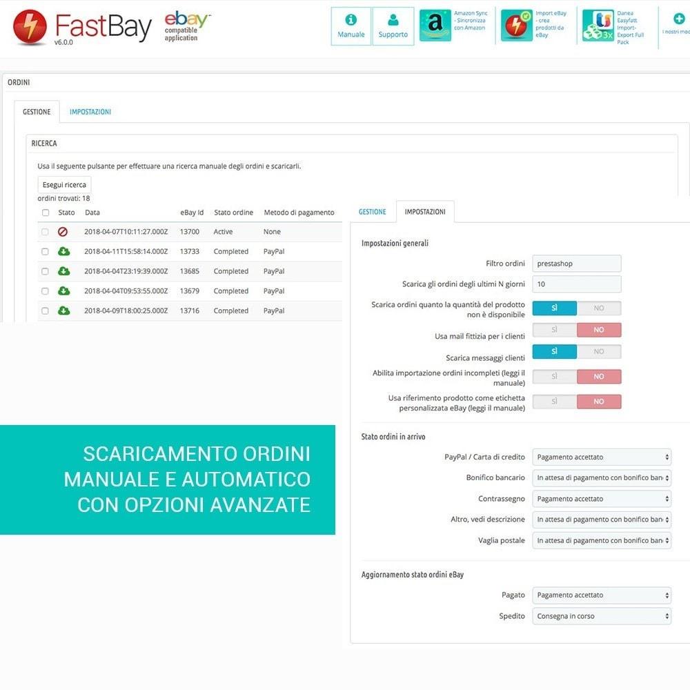 module - Marketplace - Fastbay - sincronizzazione con eBay Marketplace - 8