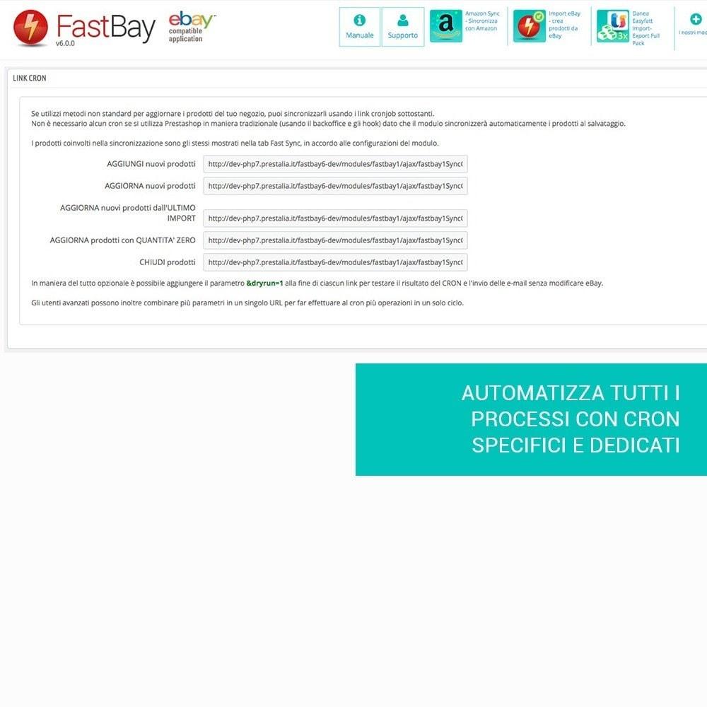module - Marketplace - Fastbay - sincronizzazione con eBay Marketplace - 11