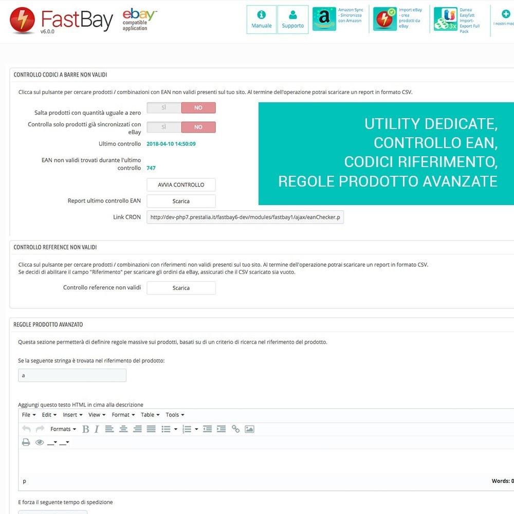 module - Marketplace - Fastbay - sincronizzazione con eBay Marketplace - 15