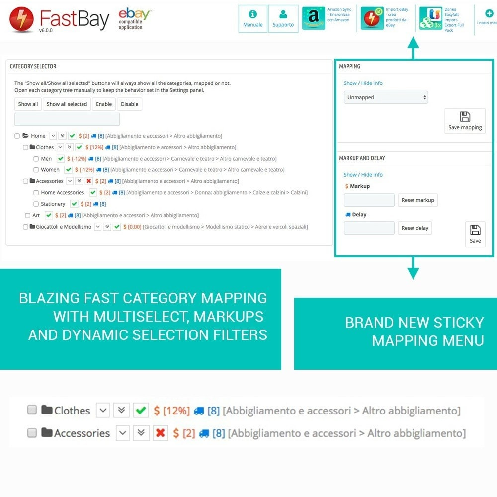 module - Marketplaces - FastBay - eBay Marketplace synchronisation - 6