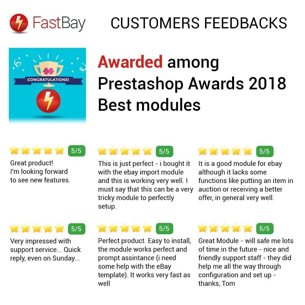 module - Marketplaces - FastBay - eBay Marketplace synchronisation - 16