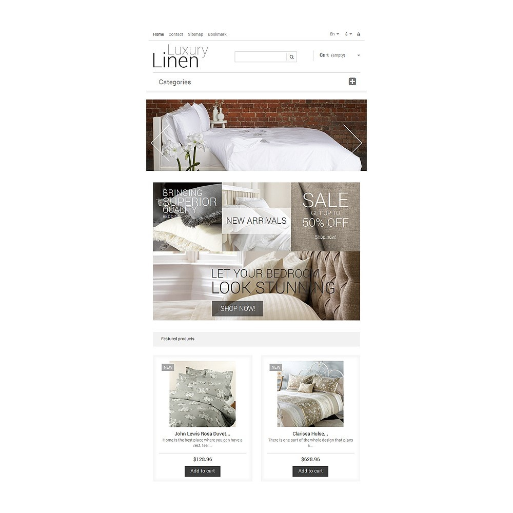 theme - Art & Culture - Luxury Linen Store - 7