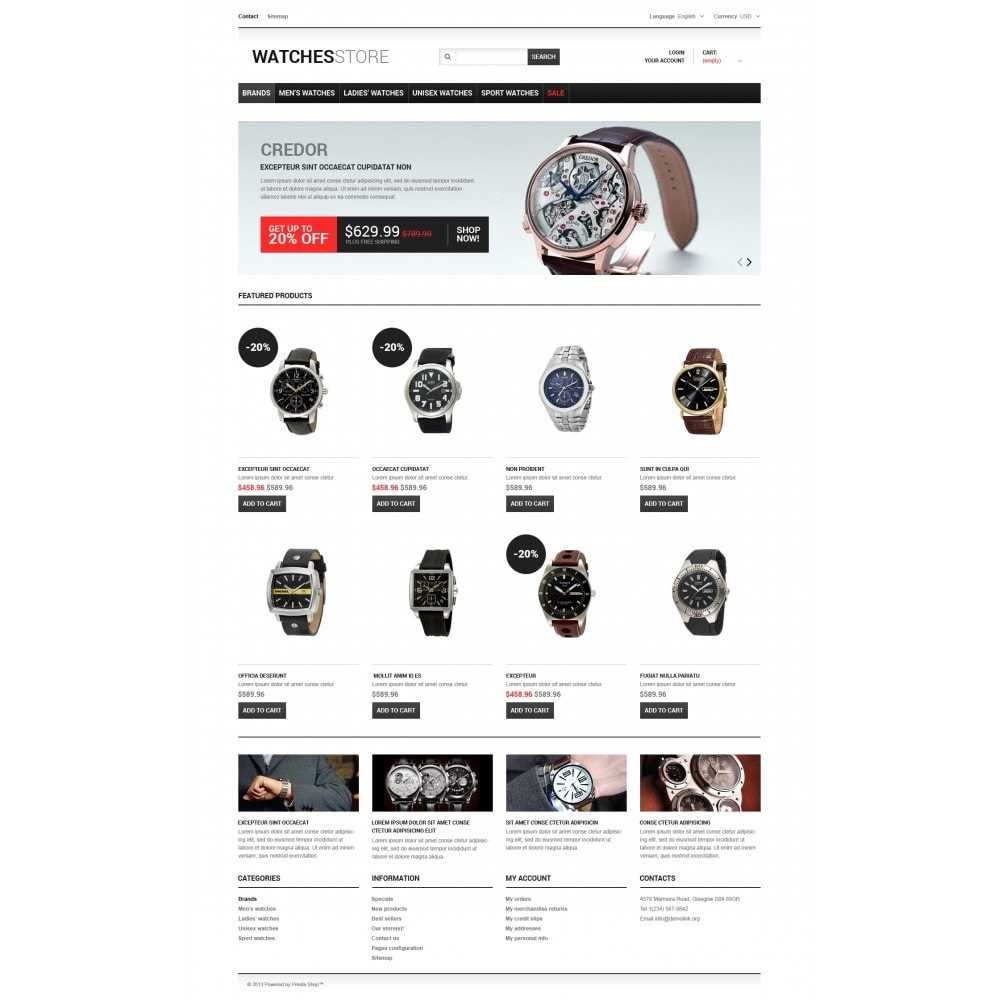 theme - Fashion & Shoes - Watches Shop - 4