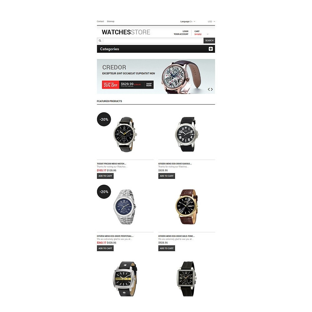 theme - Mode & Schoenen - Watches Shop - 7