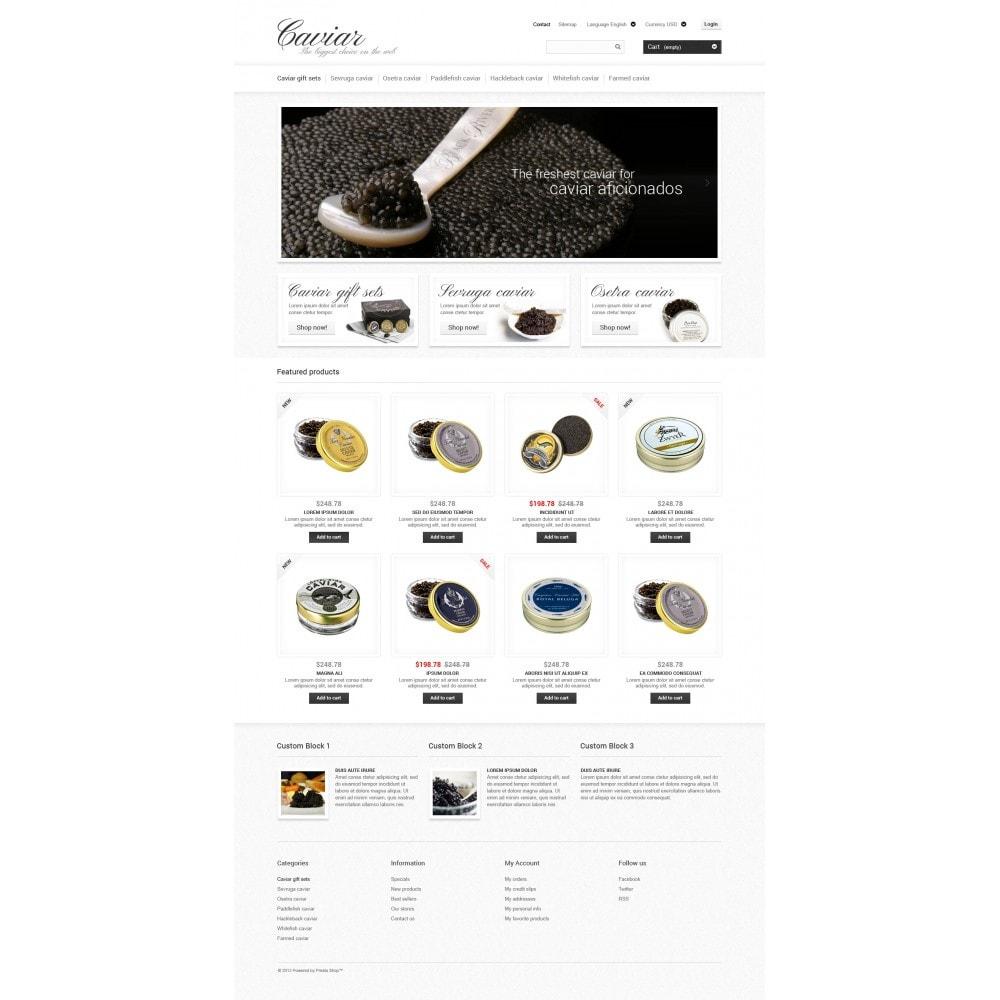 theme - Eten & Restaurant - Caviar Online Store - 4