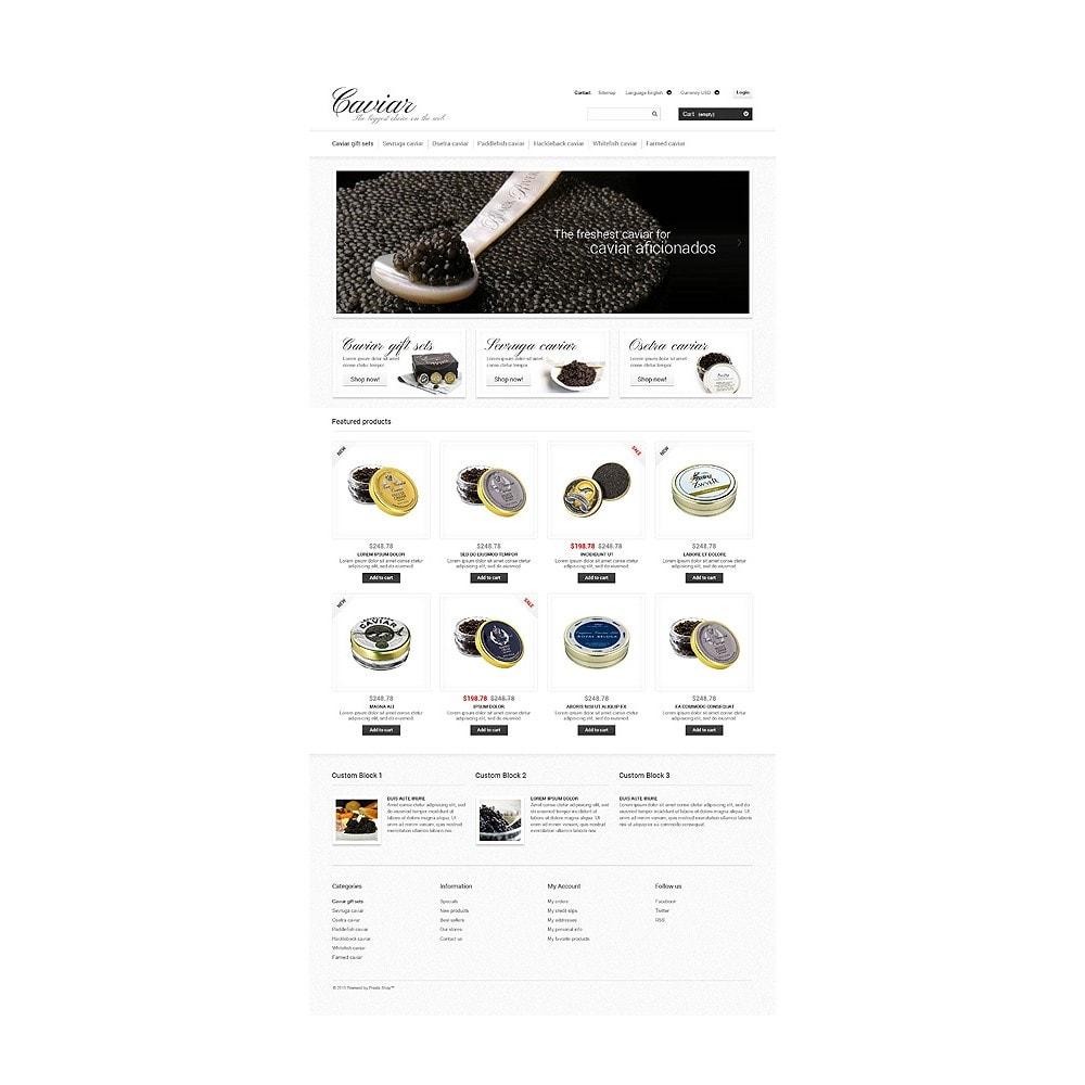 theme - Eten & Restaurant - Caviar Online Store - 10