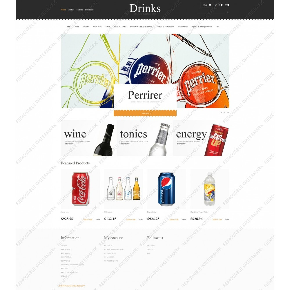 theme - Alimentos & Restaurantes - Drinks for Scorching Days - 3