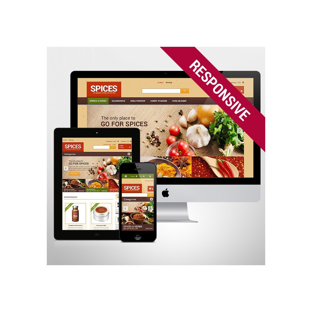 theme - Lebensmittel & Restaurants - Spice shop - 1