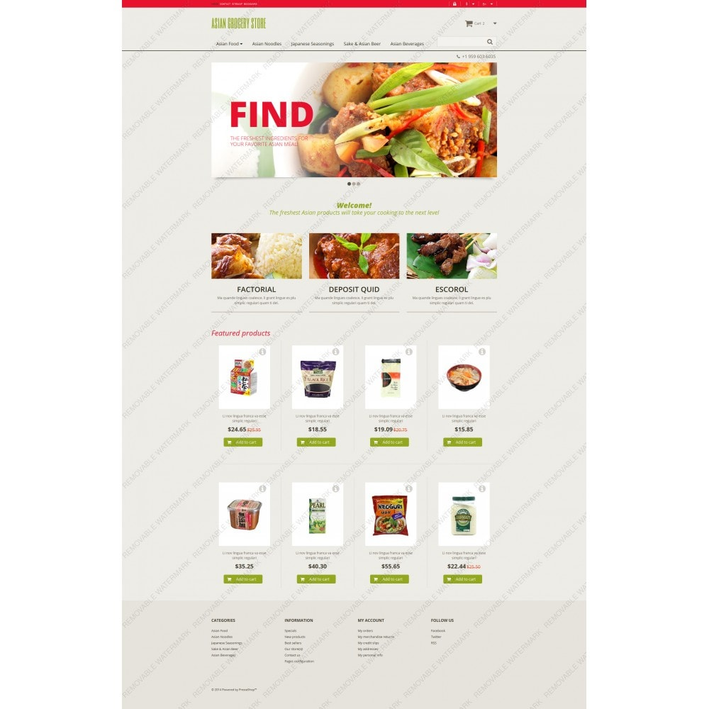 theme - Eten & Restaurant - Asian Grocery Store - 5