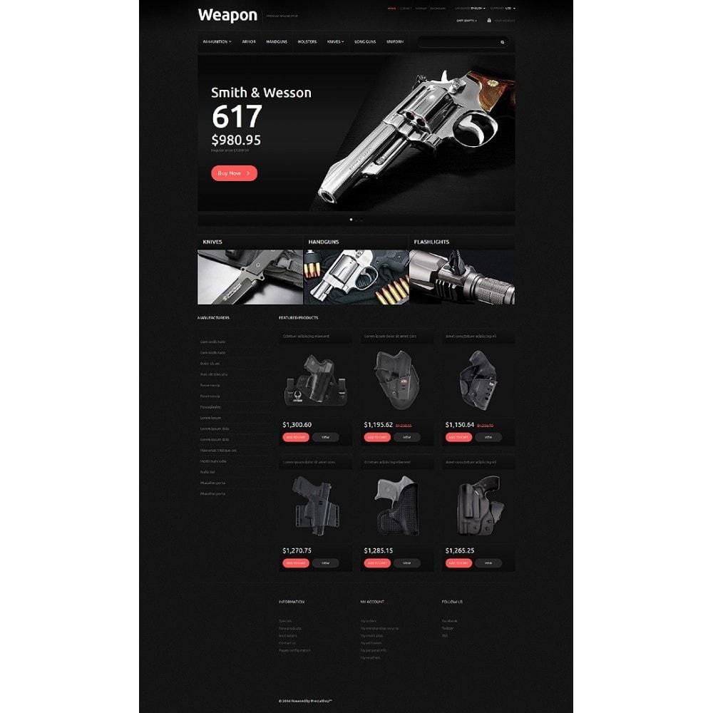 theme - PrestaShop Szablony - Weapons for SelfDefense - 2