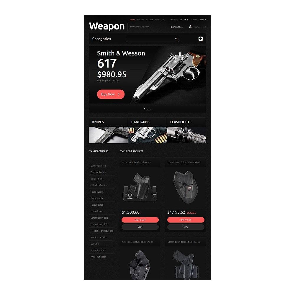 theme - PrestaShop thema's - Weapons for SelfDefense - 8
