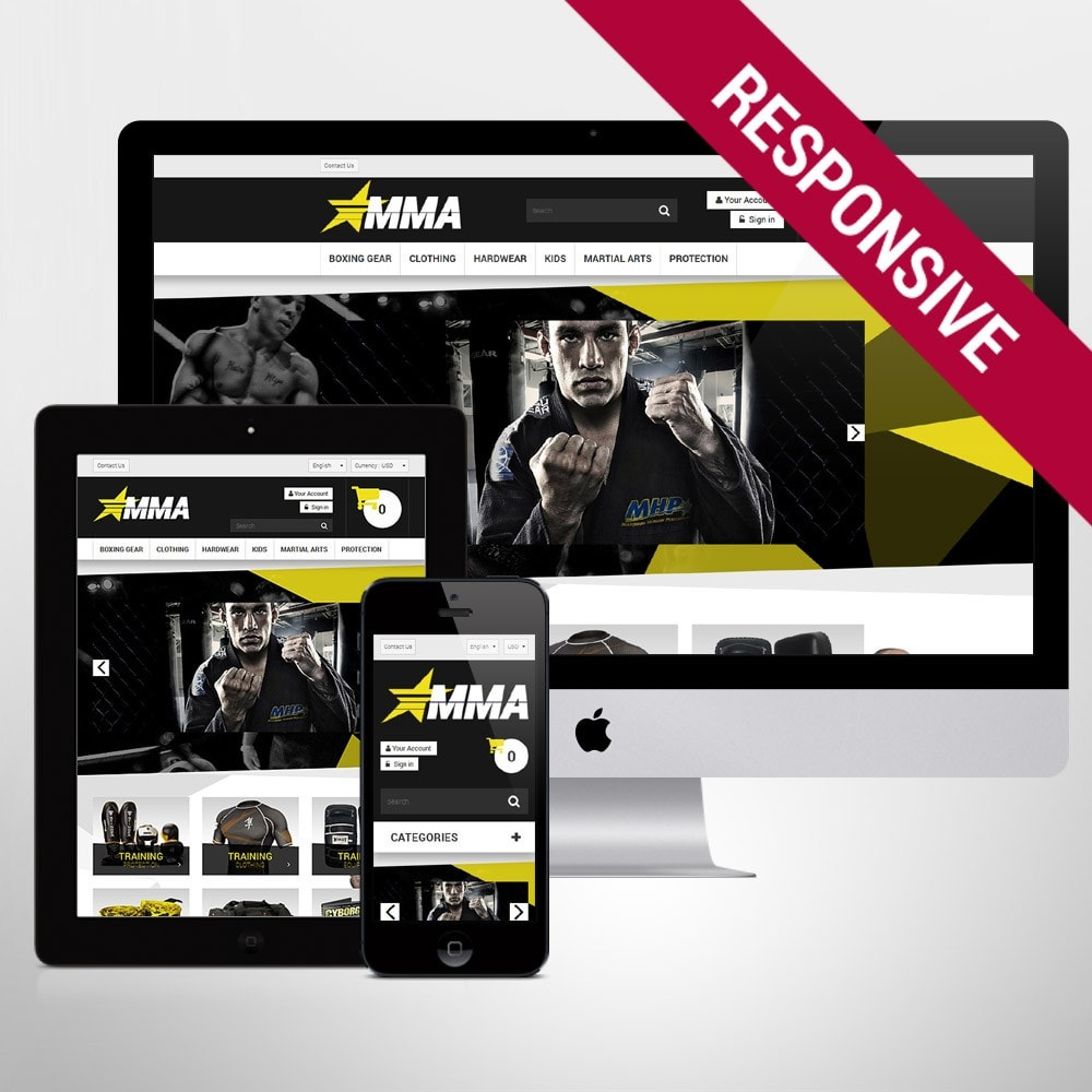 theme - Sports, Activities & Travel - MMA Store - 1