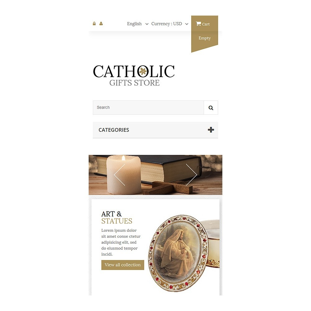 theme - PrestaShop thema's - Religious Items - 8