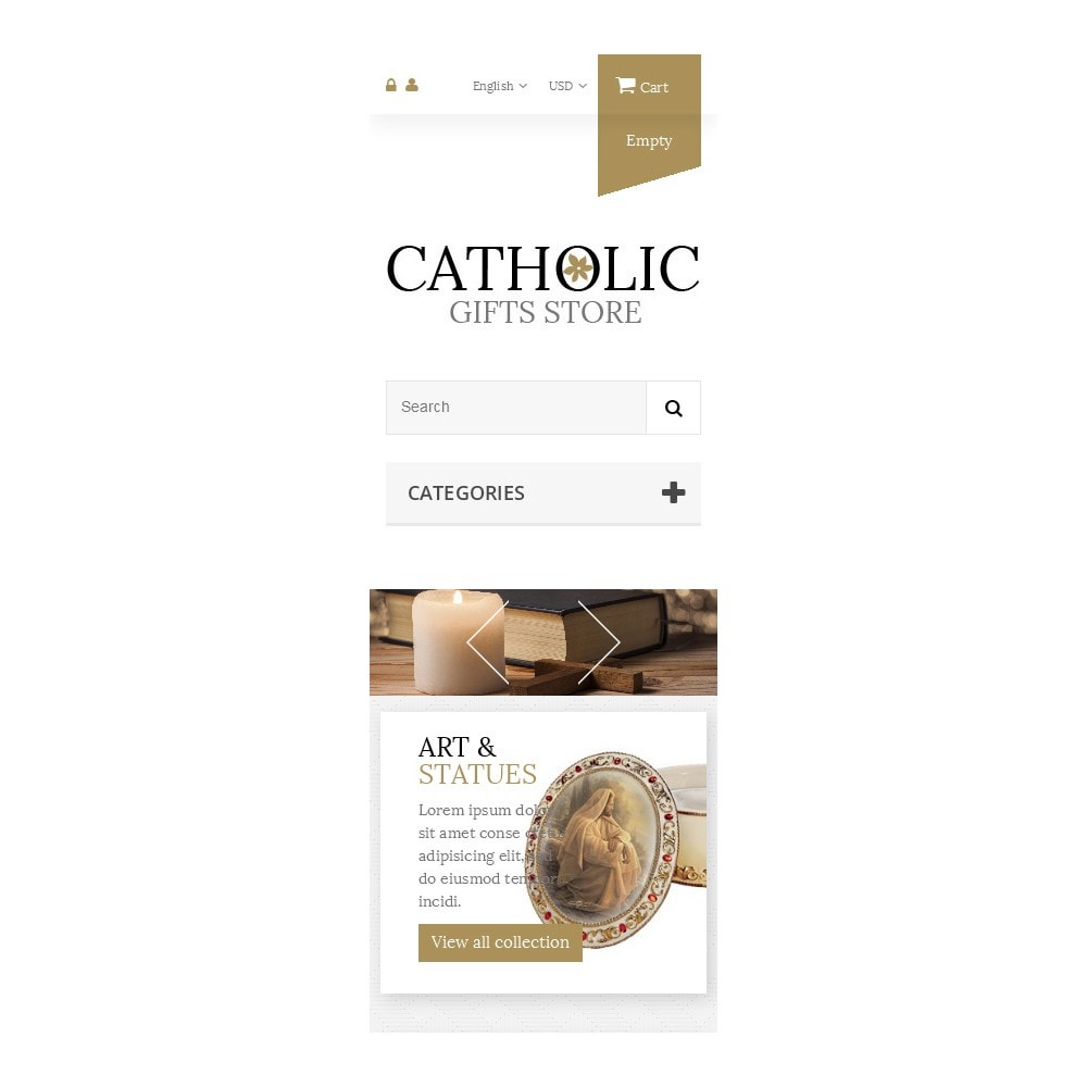theme - PrestaShop thema's - Religious Items - 9