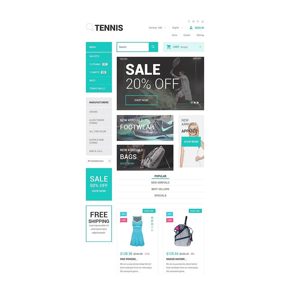 theme - Sport, Activiteiten & Reizen - Tennis Accessories Store - 7