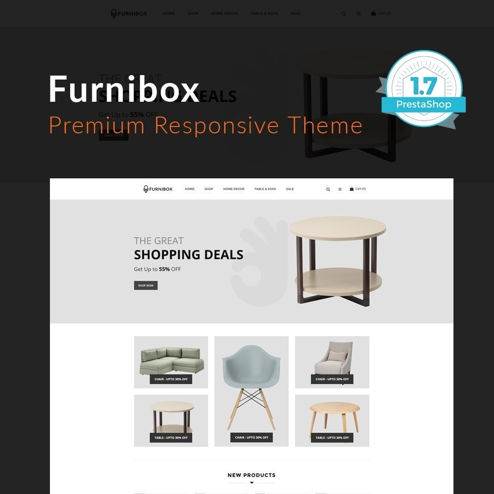 theme - Maison & Jardin - Furnibox - Furniture Store - 1