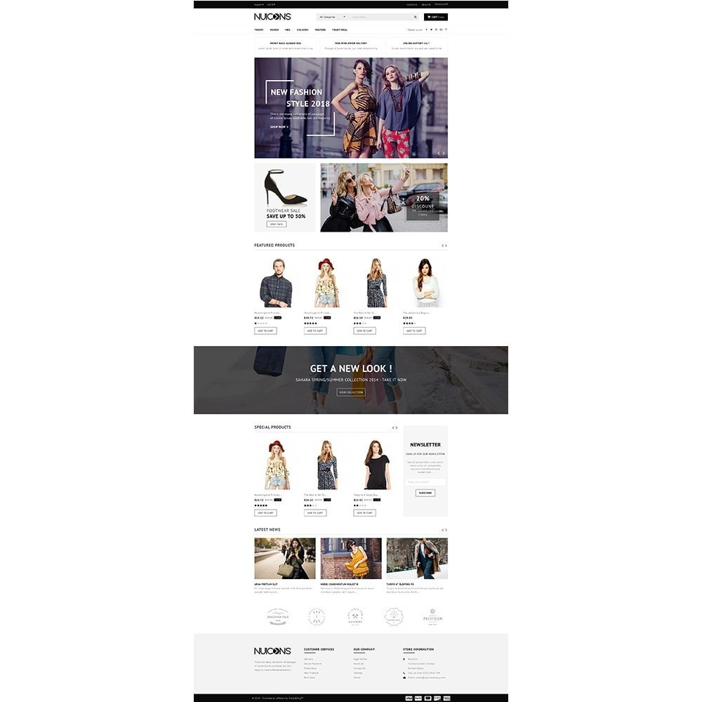 theme - Fashion & Shoes - Nuicons Fashion Store - 2