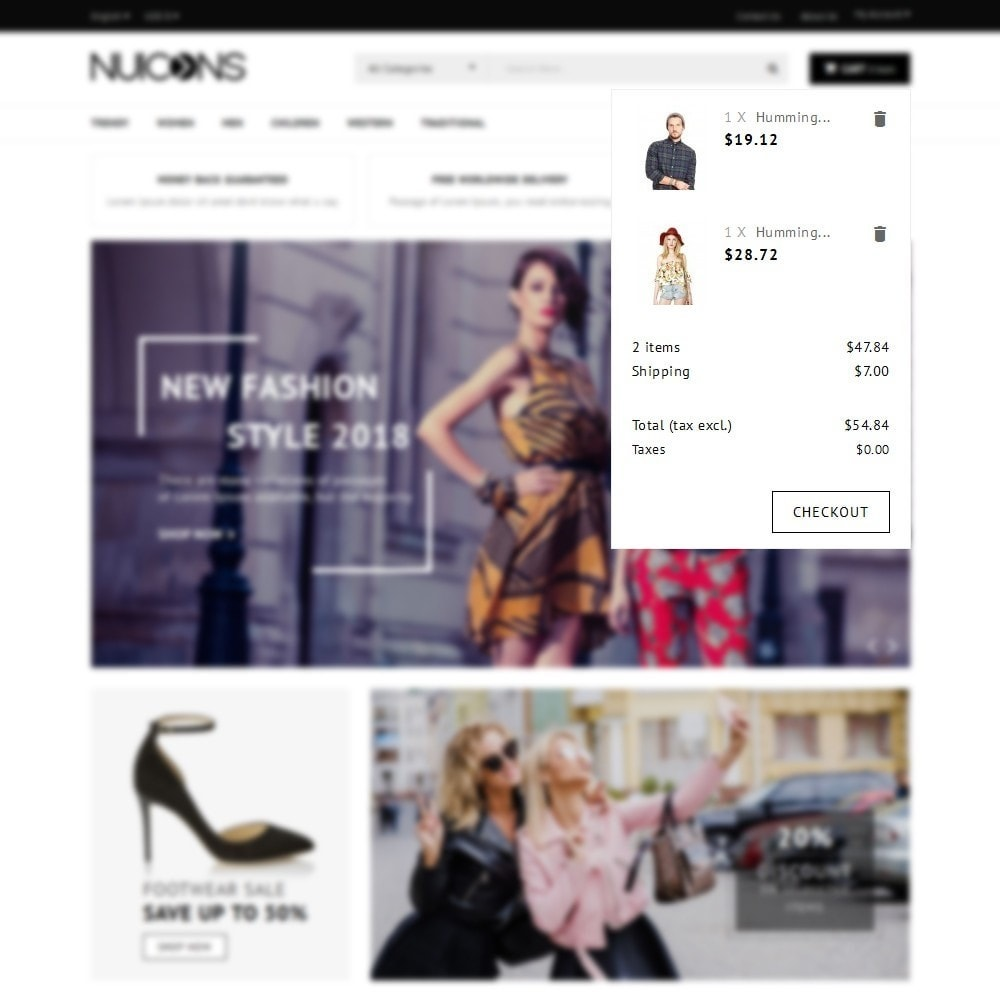 theme - Fashion & Shoes - Nuicons Fashion Store - 8