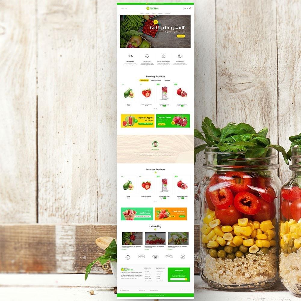theme - Gastronomía y Restauración - Organic vegetable store - 3
