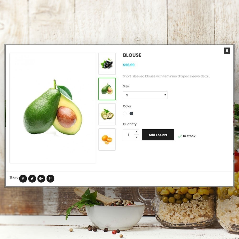 theme - Lebensmittel & Restaurants - Organic vegetable store - 7