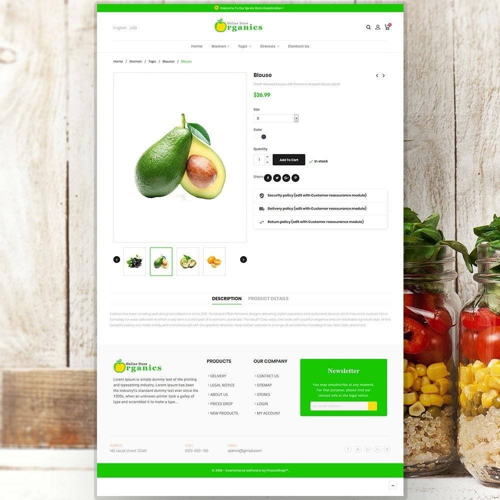 theme - Eten & Restaurant - Organic vegetable store - 6