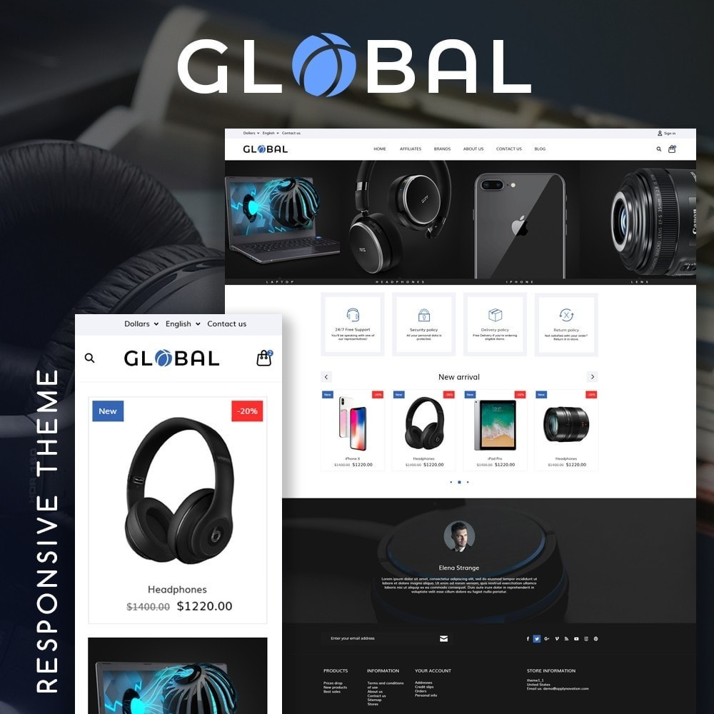 theme - Electronique & High Tech - Global - High-tech Shop - 1