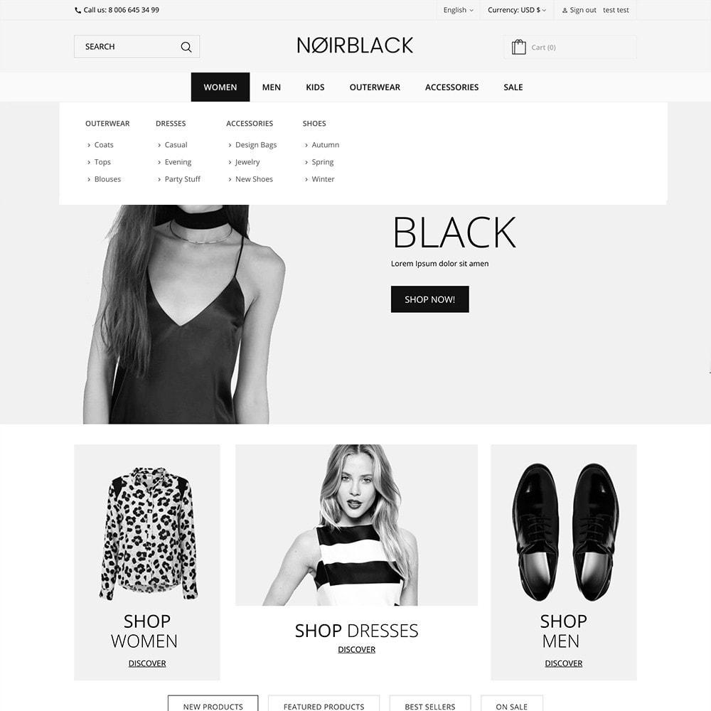 theme - Mode & Chaussures - Noirblack - 2