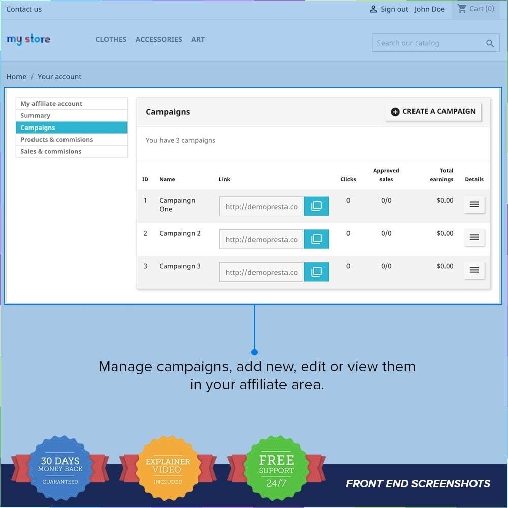 module - SEA SEM (paid advertising) & Affiliation Platforms - Full Affiliates PRO - 7
