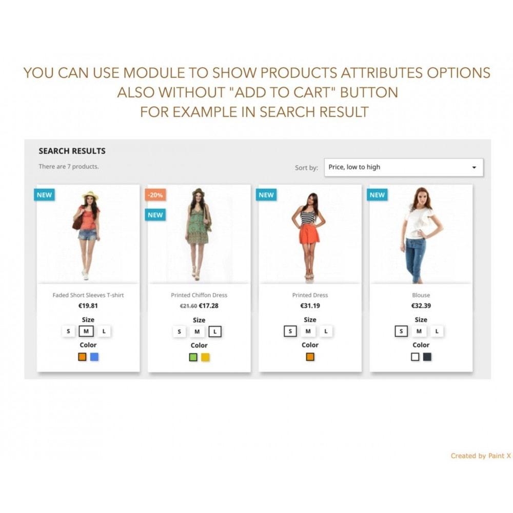 module - Deklinacje & Personalizacja produktów - Wyswietlenie atrybutow produktu na liście produktów - 7