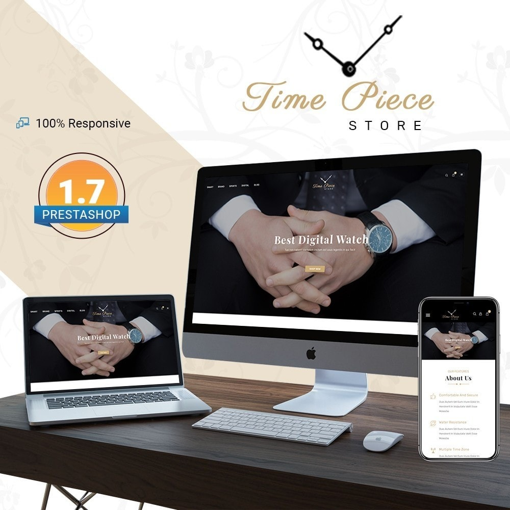 theme - Sports, Activities & Travel - Timepiece - Watch Store - 1
