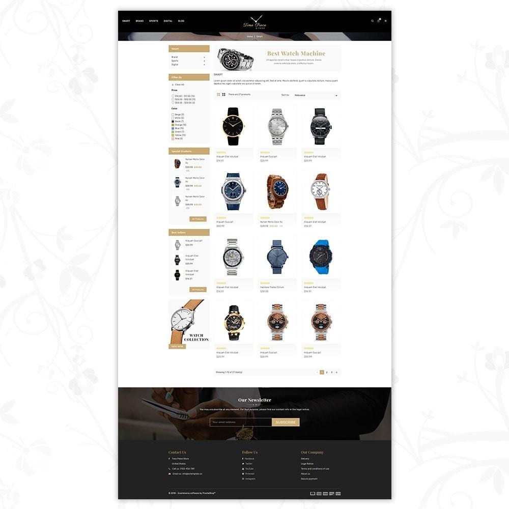 theme - Deportes, Actividades y Viajes - Timepiece - Watch Store - 3