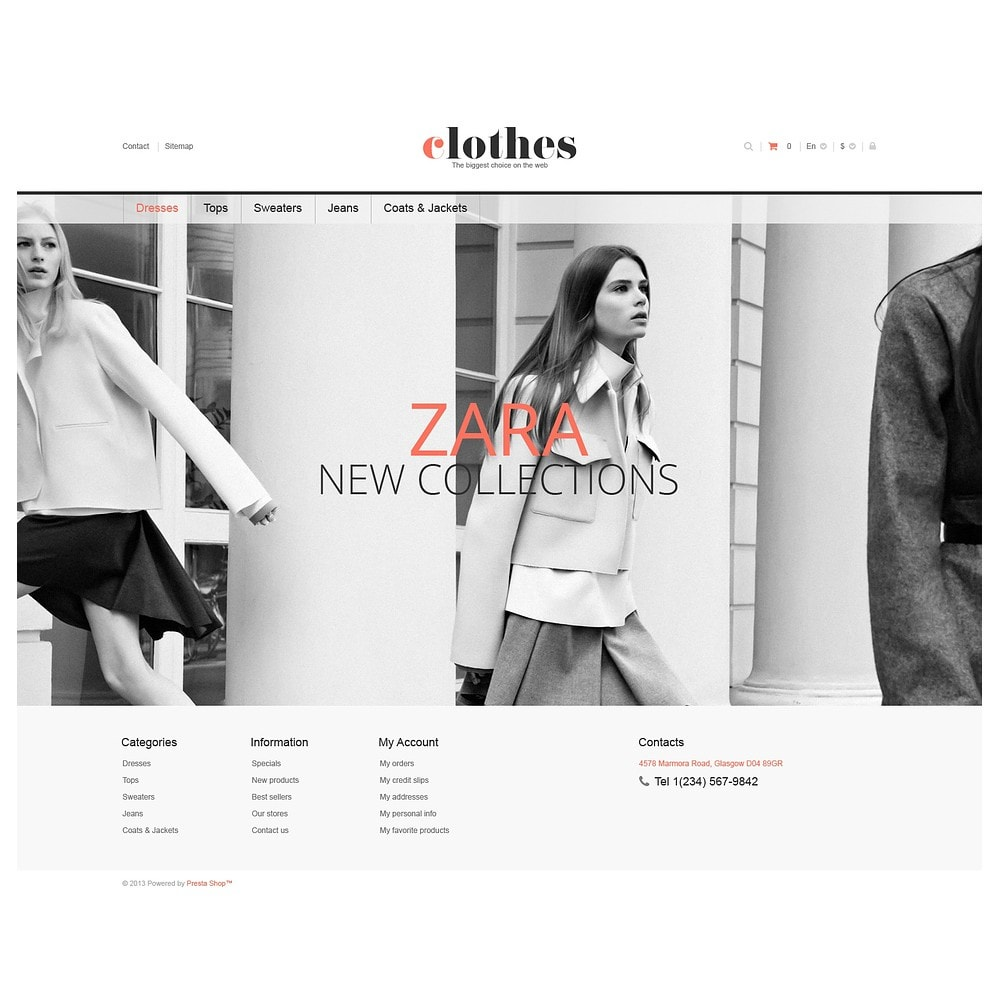 theme - Moda & Obuwie - Responsive Clothes Store - 2