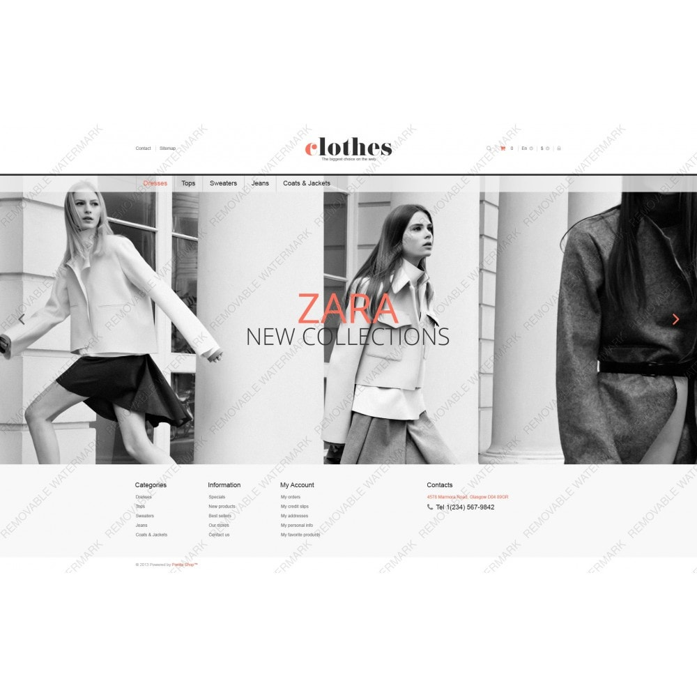 theme - Moda & Obuwie - Responsive Clothes Store - 5